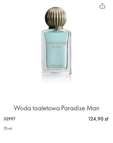 Woda toaletowa Paradise Man