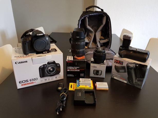 Canon 650D/T4i+Muitos EXTRAS