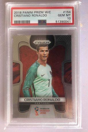 Cristiano Ronaldo 2018 Graduado PSA 10