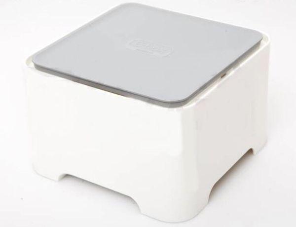 Organizer kabli Cuver box kwadrat Nowy !!