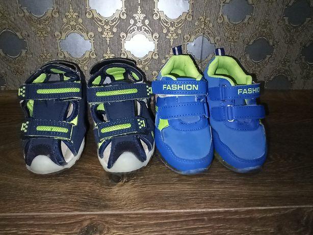 Кроссовки, босоножки (сандали) для мальчика