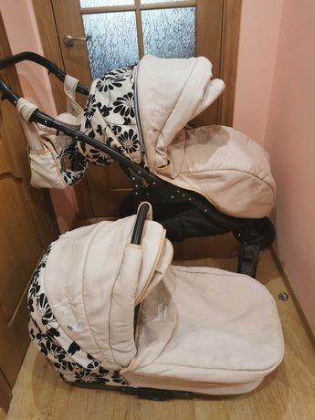 Дитяча коляска Camarelo Dakota-льон 2в1