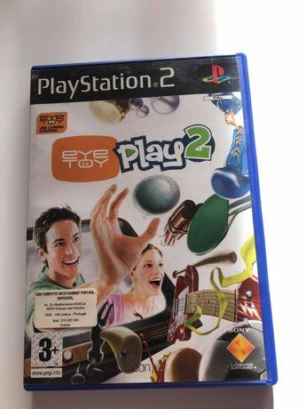 Jogo PS2 - Eye Toy Play 2