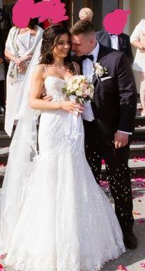 Sprzedam suknię ślubną piękna syrenke