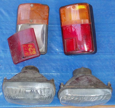 Lampa przód tył Fiat 126p