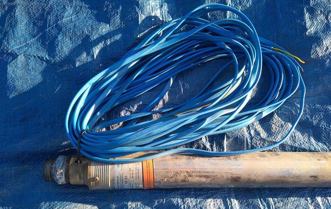 3V28 1,1 kW Omnigena 230V Pompa głębinowa z 20m kablem.1 rok gwarancji