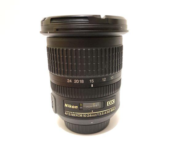 Lente Nikon 10-24mm f3.5-4.5G