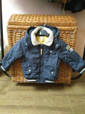 Тепла курточка на ріст 92см
