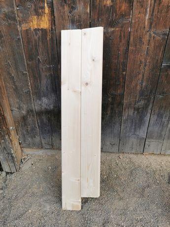 Deska elewacyjna 1.9cm grubości 12.7cm szeroka podbitka świerkowa