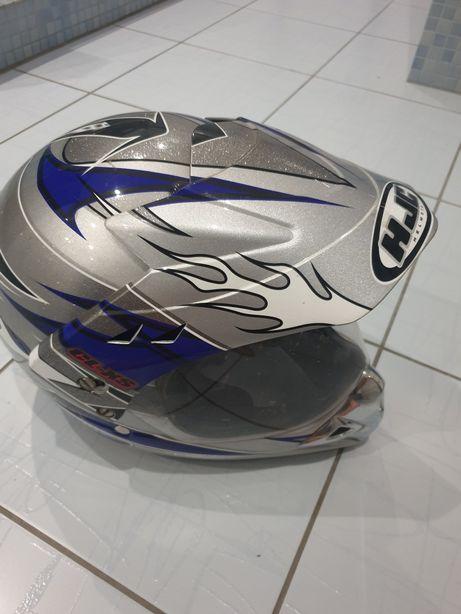 Kask motocyklowy lub quada