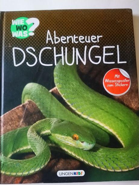 Книга Abenteuer Dschungel на німецькій мові