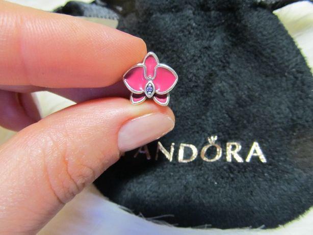Шарм-Бусина Орхидея Pandora (Оригинал)