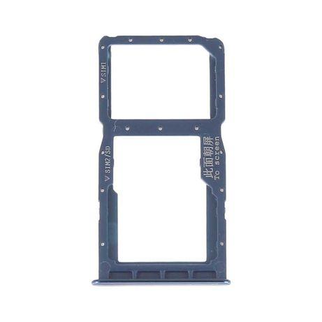 Gaveta cartão Sim /Micro SD Huawei P30 Lite (MAR-LX1A MAR-L21A)-Azul