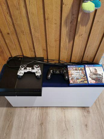Playstation 4 + gry