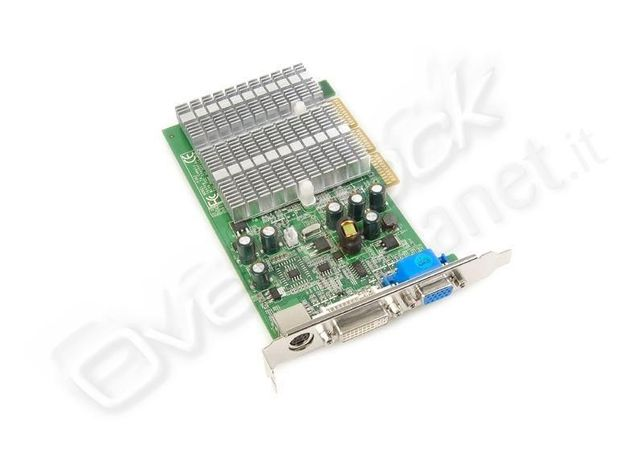 Placa vídeo Point Of View Geforce GF6200/AGP 256Mb Tv/Dvi