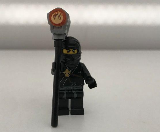 Lego Ninjago Cole czarny ninja z młotem