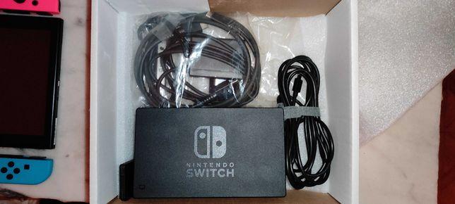 Nintendo Switch + Jogo + Comando