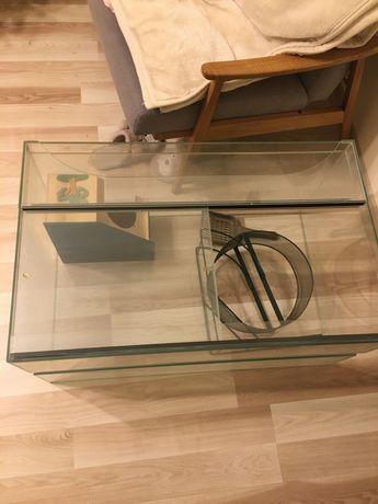 Terrarium szklane 80cm x 50cm x 40cm