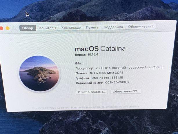 Apple Imac 21.5, ME086, 16gb, 256 ссд