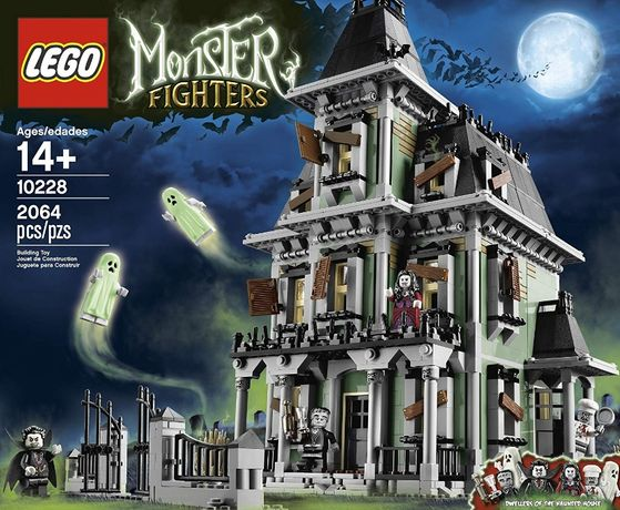 LEGO 10228 Monster House NOVO SELADO