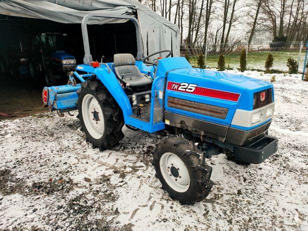 Traktor Ogrodowy Iseki TK25, Rewers, 4x4 ,Glebogryzarka