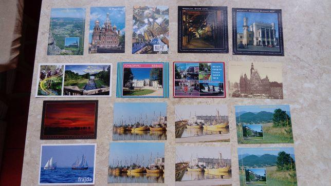Kartki pocztowe - różne
