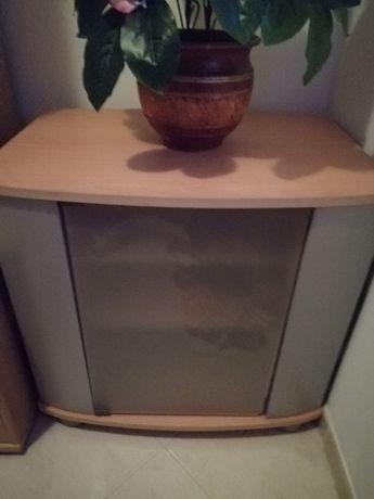 Mesa TV cor castanho