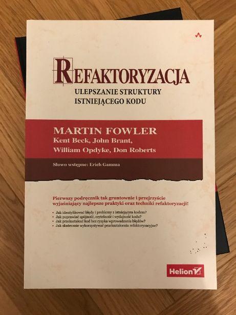 Książka Martin Fowler - Refaktoryzacja (Helion)