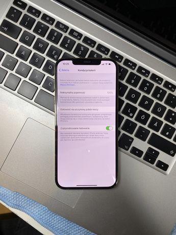 Iphone 12 Pro Max 256GB Super Stan Gwr kolor Złoty Bat 100%