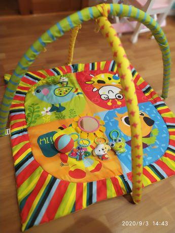 Коврик игровой детский , развивающий , килимок дитячий