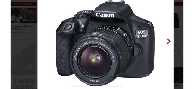 Aparat Canon eos1300d