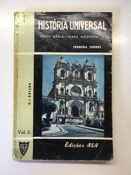 Livro - História Universal (Ferreira Torres)
