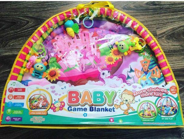 Килимок ігральний для немовлят