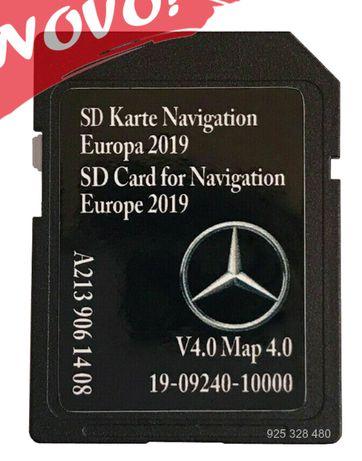 Mercedes cartao GPS 5.5 Star Europa 2019-20