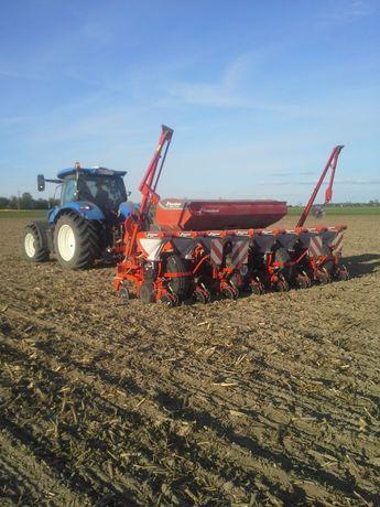 Siew kukurydzy zbóż traw-podsiew. Wywóz gnojowicy. Kverneland Horsch