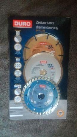 zestaw tarcz diamentowych DURO 125mm