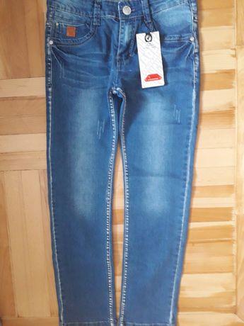 Новые стильные джинсы р 146 Венгрия  Grace