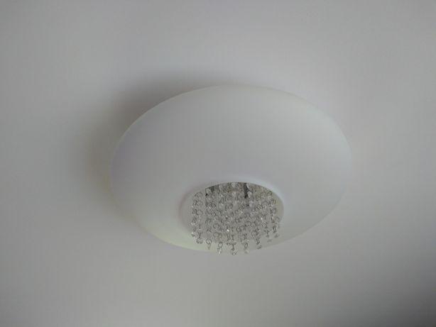 Lampa sufitowa plafon Glamour Italux 2 sztuki + żarówki gratis