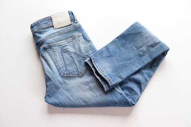 Męskie spodnie luxusowe i niepowtarzalne CHASIN EGO W34 L34 jeansy