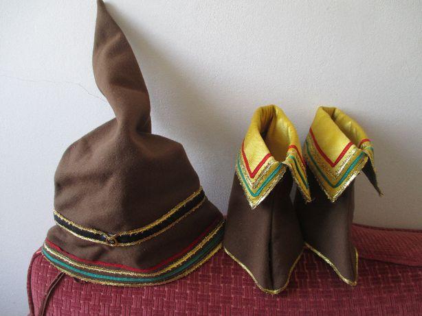 Chapéu e polainas de DUENDE