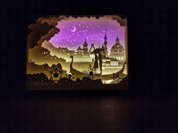 Декоративный настольный ночник, ночной светильник, 3D ночник