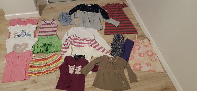 Paka ubrań/ ubranka dla dziewczynki2-3 lata 104-110 cm