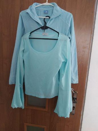 paka zestaw ubrań M 38 sweter bluza polarowa, bluzka 2 szt