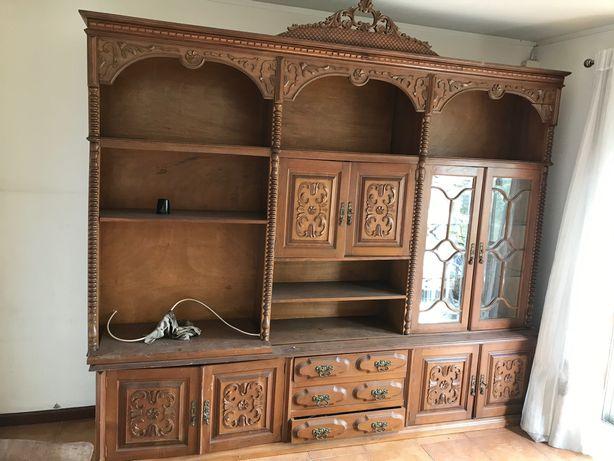 Armário sala madeira