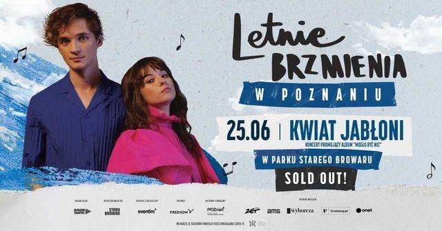Bilet-y na koncert zespołu Kwiat Jabłoni - Poznań - 25.06.2021r.