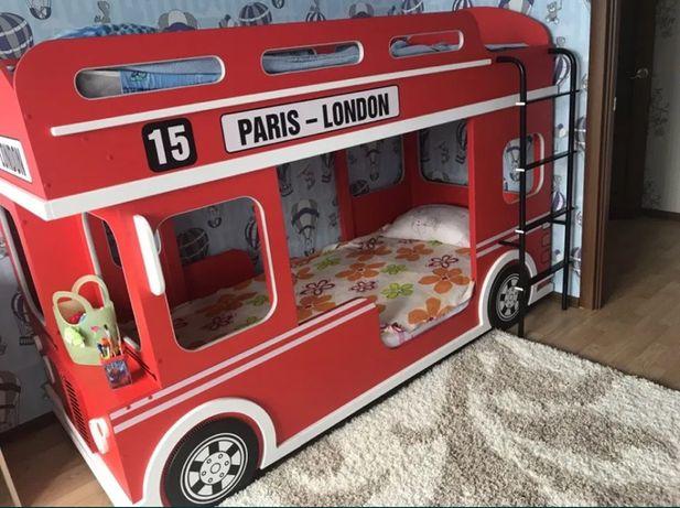 Продам двухъярусную кровать автобус