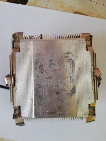 Кулер з алюмінієвий радіатором