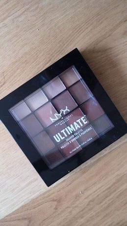 NYX Professional Makeup Ultimate Shadow Palette Warm Neutrals cienie