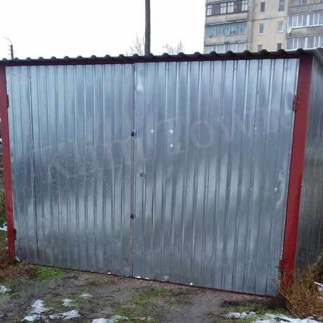 Продається металевий гараж на вивіз