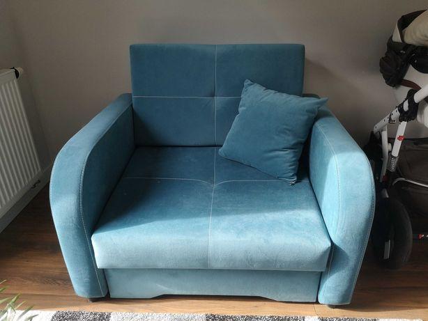Fotel rozkładany z funkcją spania